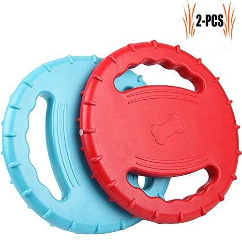 Legendog Hundespielzeug Frisbee, 2 Stück